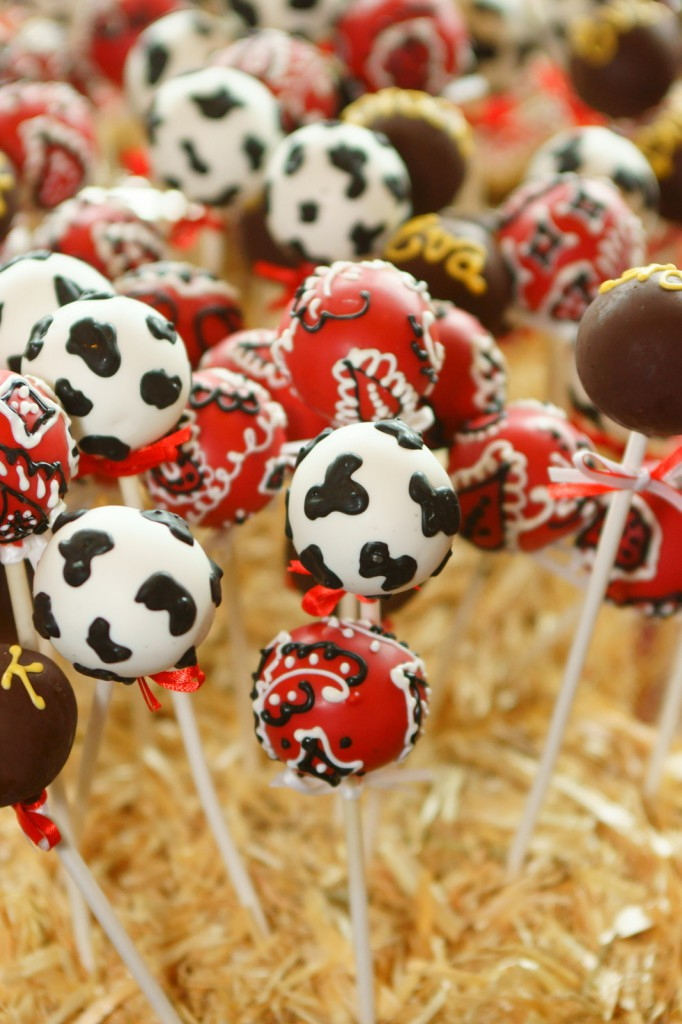 Western Theme Cake Pops