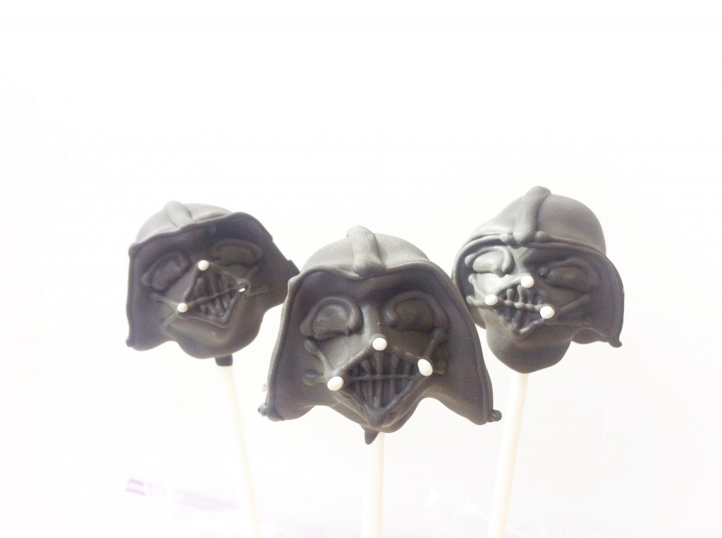 Darth Vader Cake Pops