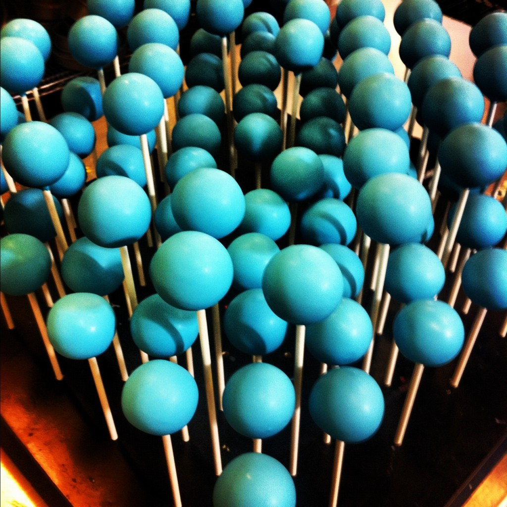 Cake Pops!  Many other colors available!