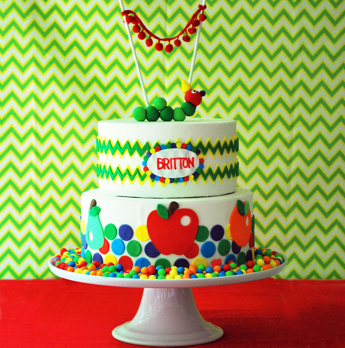 Caterpillar Cake by Two Sugar Babies